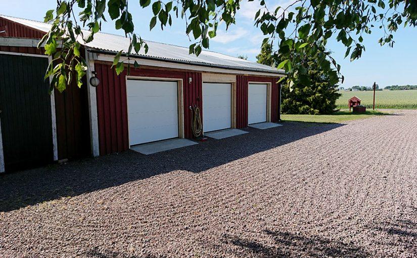 Nya garageportar del 8