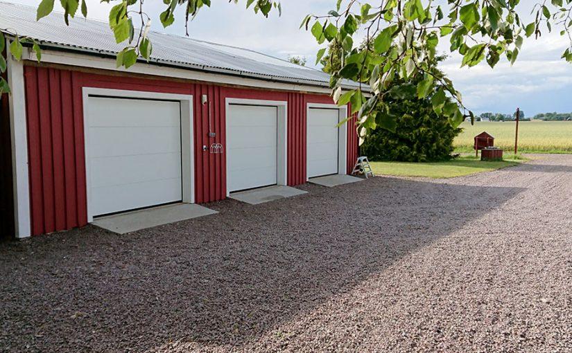 Nya garageportar del 9