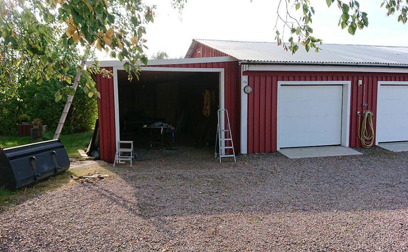 Nya garageportar del 14