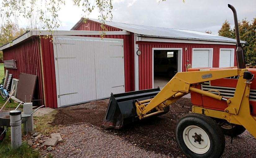 Nya garageportar del 18