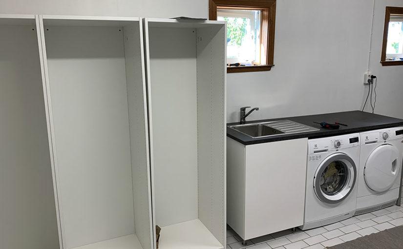 Renovering av tvättstuga del 2