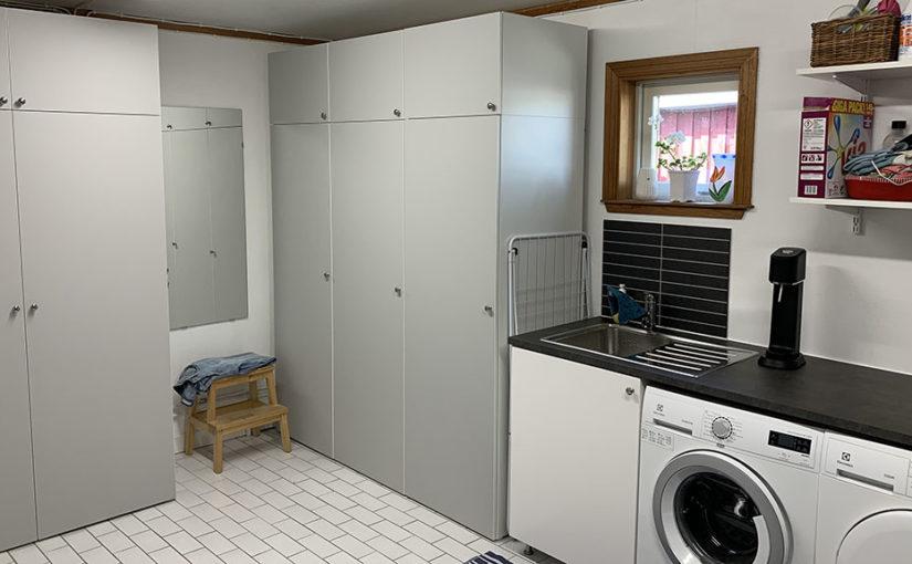 Renovering av tvättstuga del 5