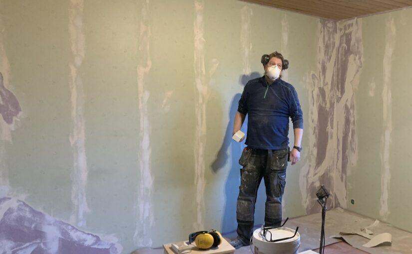 Renovering av Julias rum del 1
