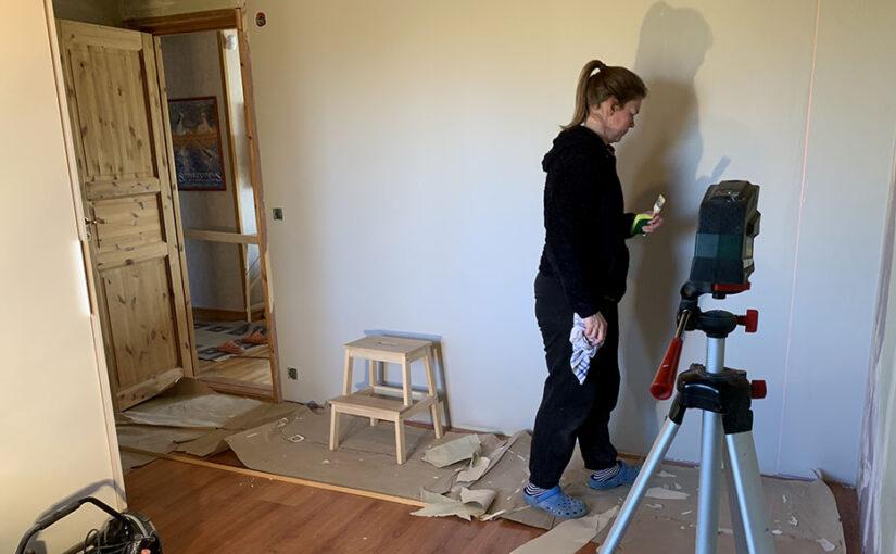 Renovering av Julias rum del 2