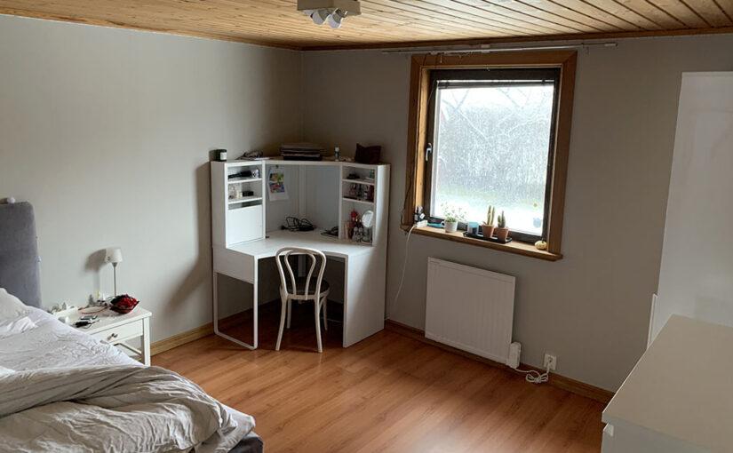 Renovering av Julias rum del 3