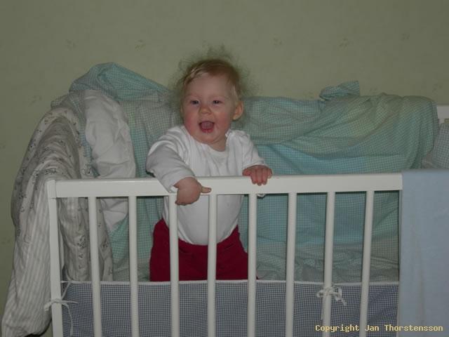 Julia 9 månader