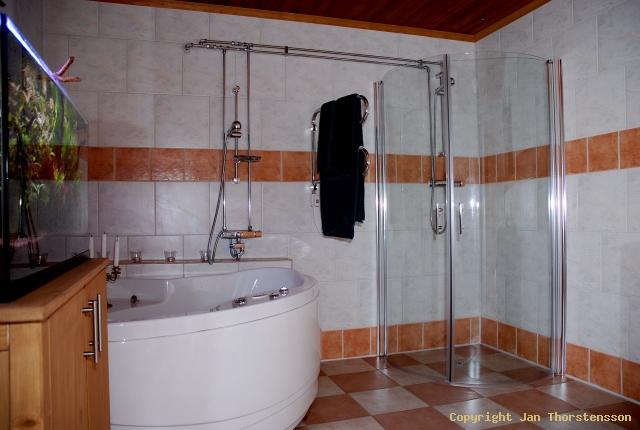 Ny duschhörna