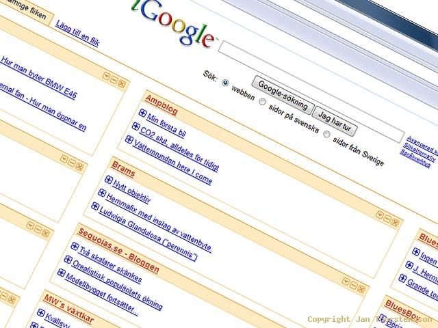 Nya feeds på iGoogle