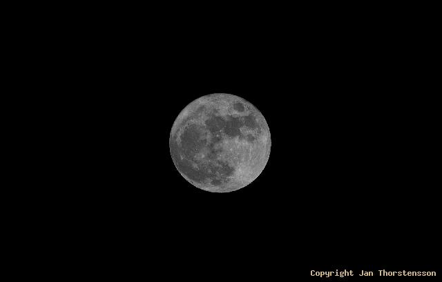 Månen är full