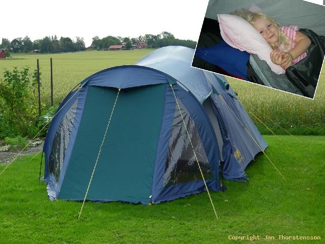 Camping på nära håll