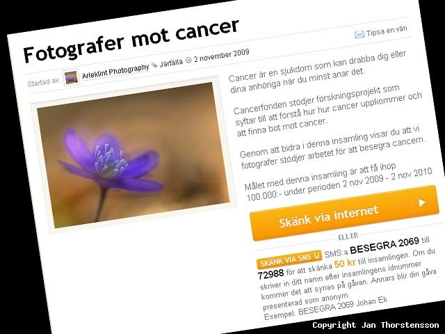 Fotografer mot cancer