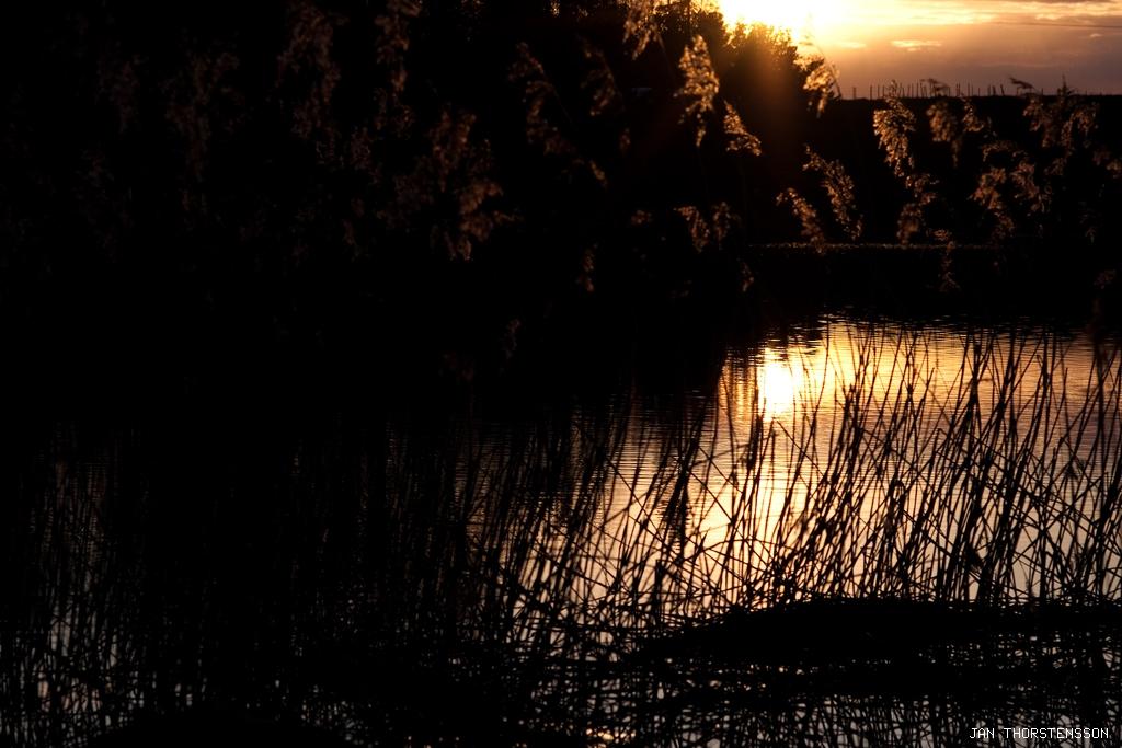 En kväll och en sjö