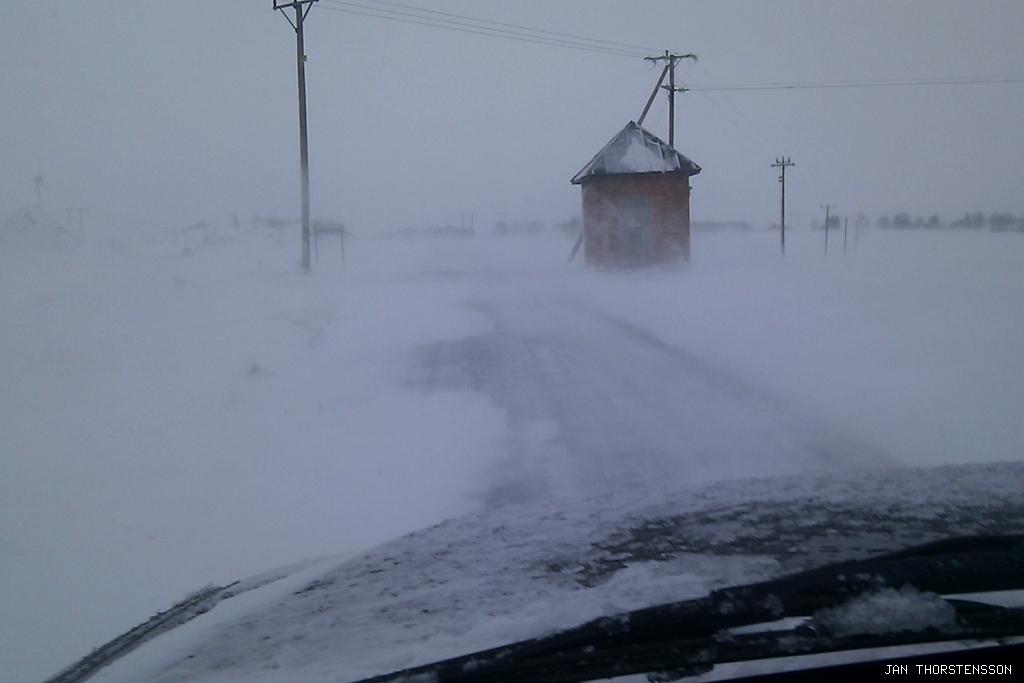 Vinterväg igen