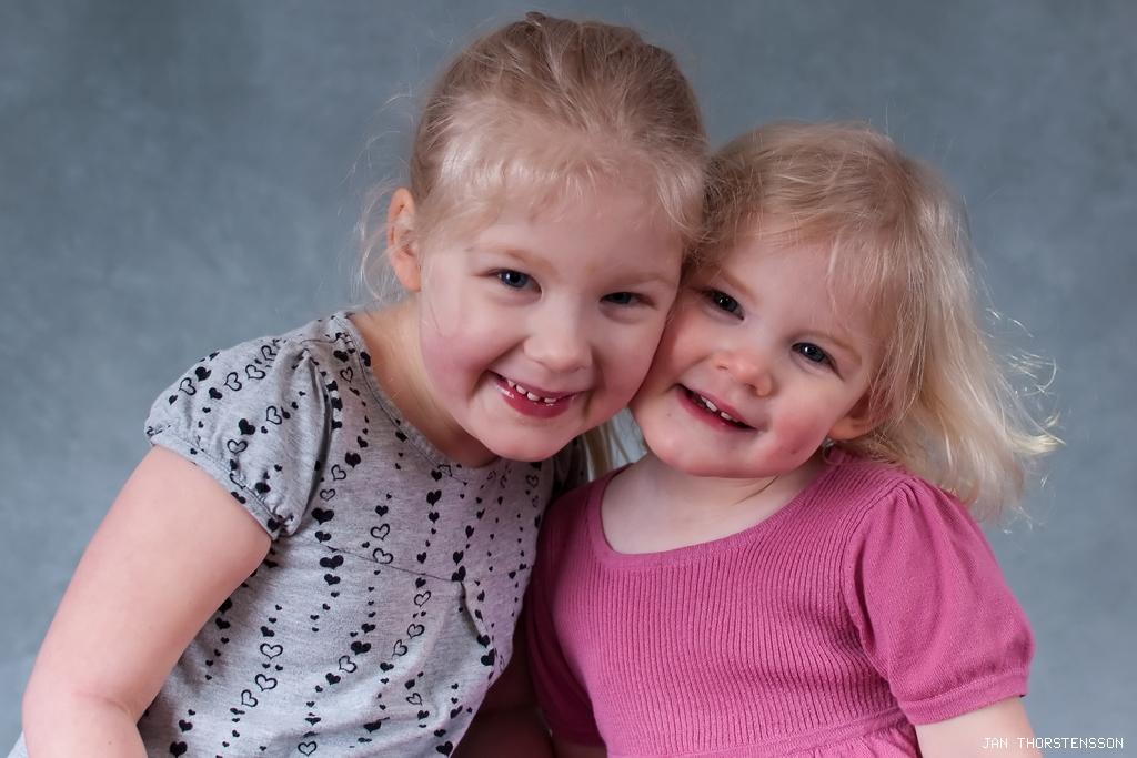 Fotosession med barnen