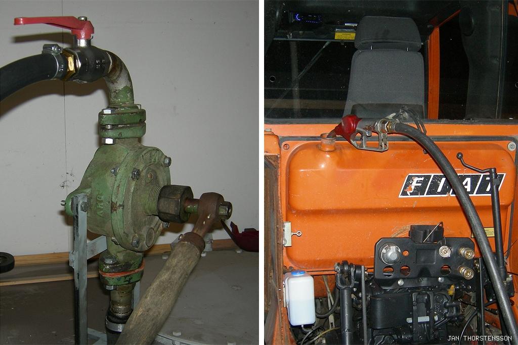 Traktorrenovering – Fill it up