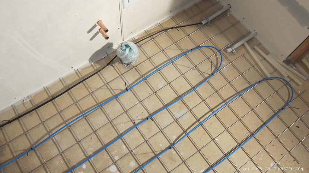 Ett varmt golv